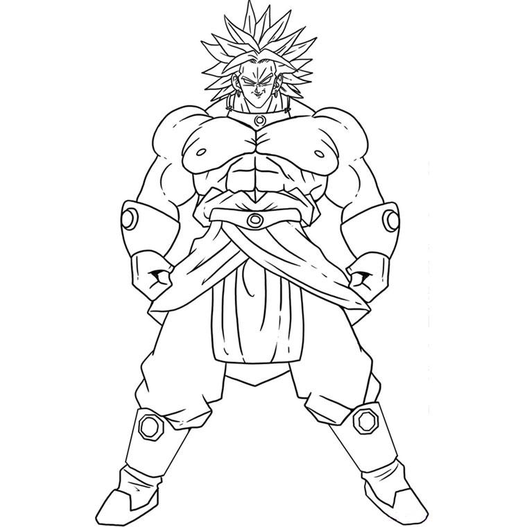 112 Dibujos De Dragon Ball Z Para Colorear Oh Kids Page 9