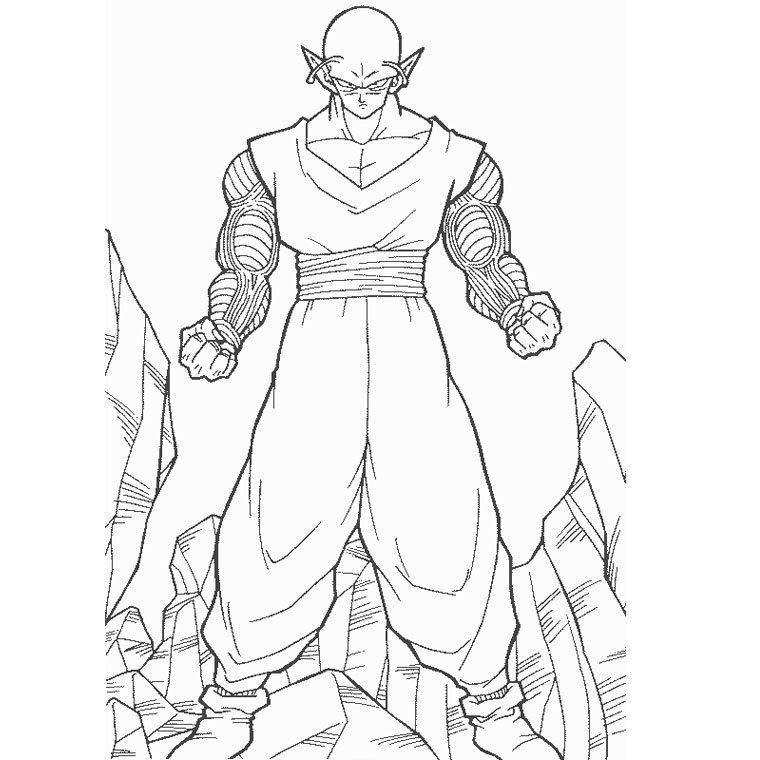 112 Dibujos De Dragon Ball Z Para Colorear Oh Kids Page 12
