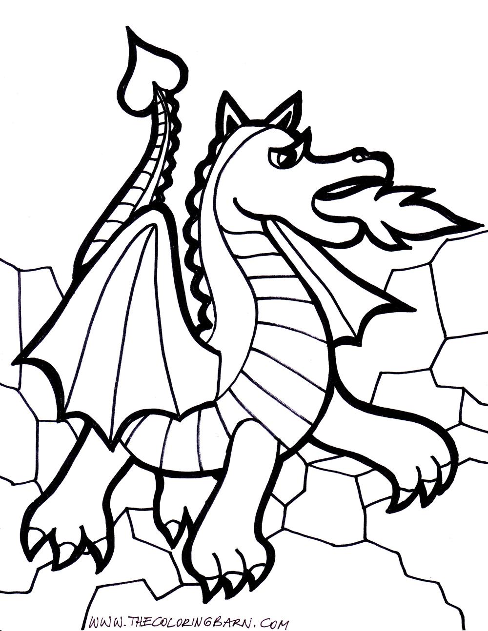 157 dibujos de Dragones para colorear | Oh Kids | Page 8