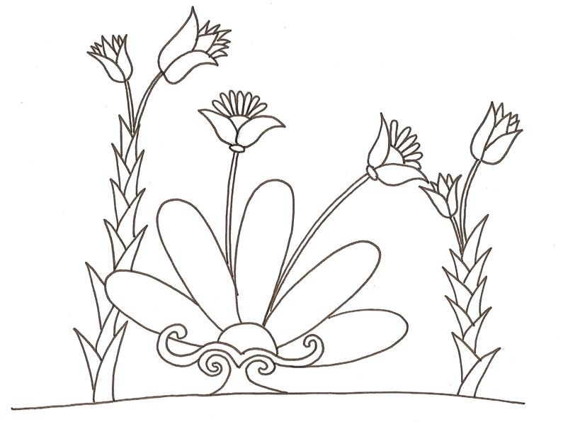 74 dibujos de Flores para colorear   Oh Kids   Page 2