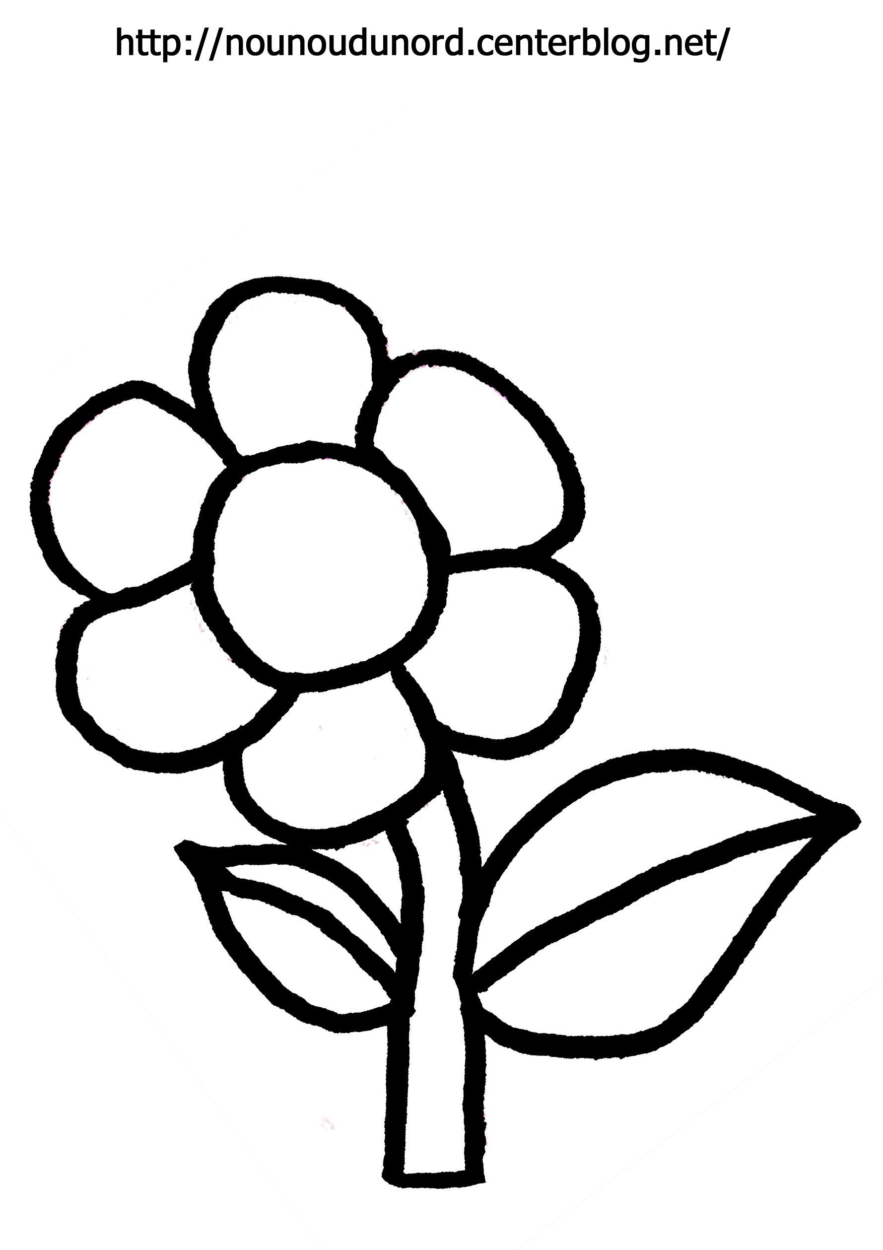 74 dibujos de flores para colorear oh kids page 7 - Une fleur dessin ...