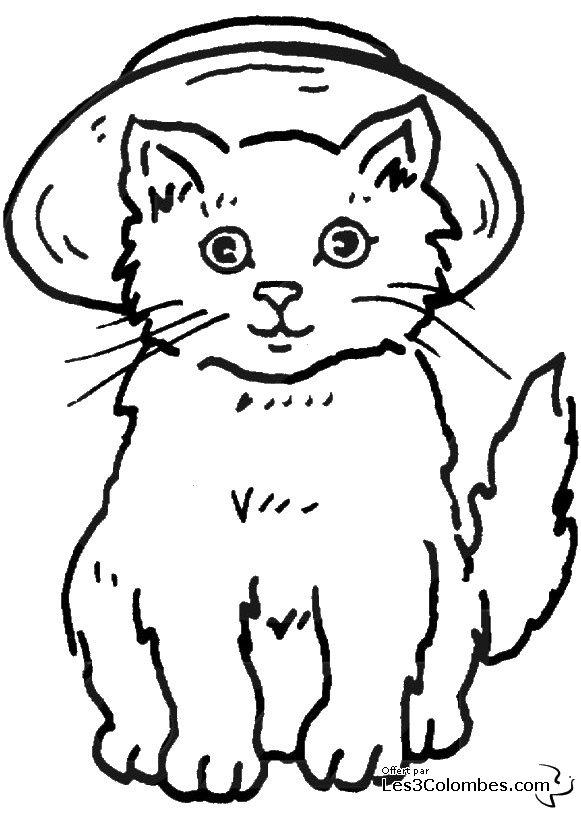 260 dibujos de Gatos para colorear | Oh Kids | Page 3