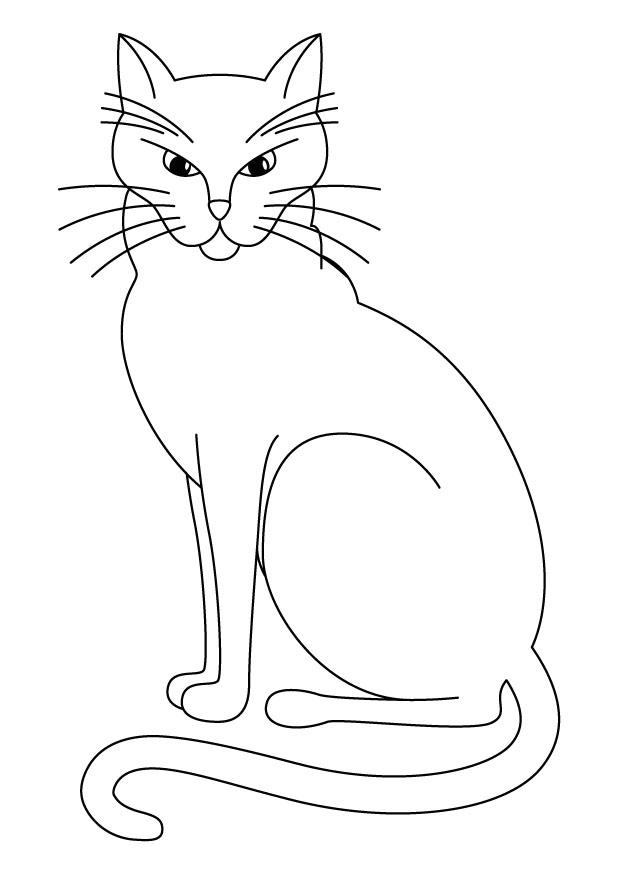 260 dibujos de Gatos para colorear | Oh Kids | Page 12