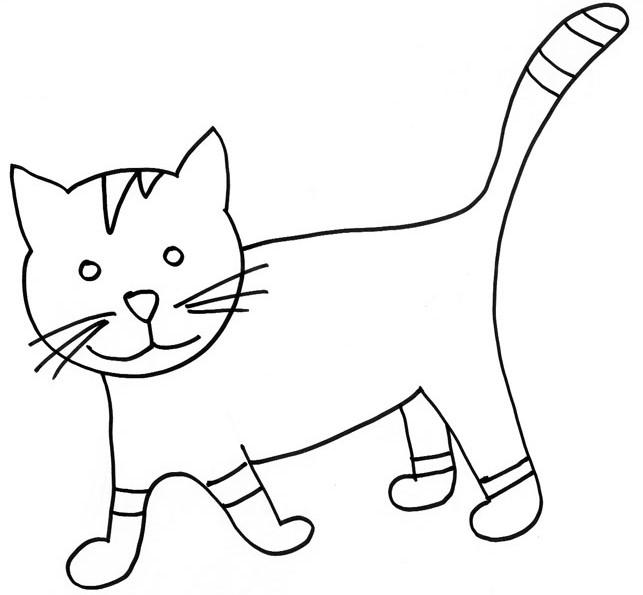 260 dibujos de gatos para colorear oh kids page 13 - Chat a colorier imprimer ...