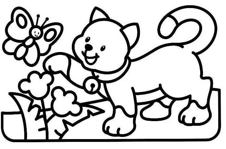 260 dibujos de gatos para colorear oh kids page 13 - Dessin pour bebe 2 ans ...