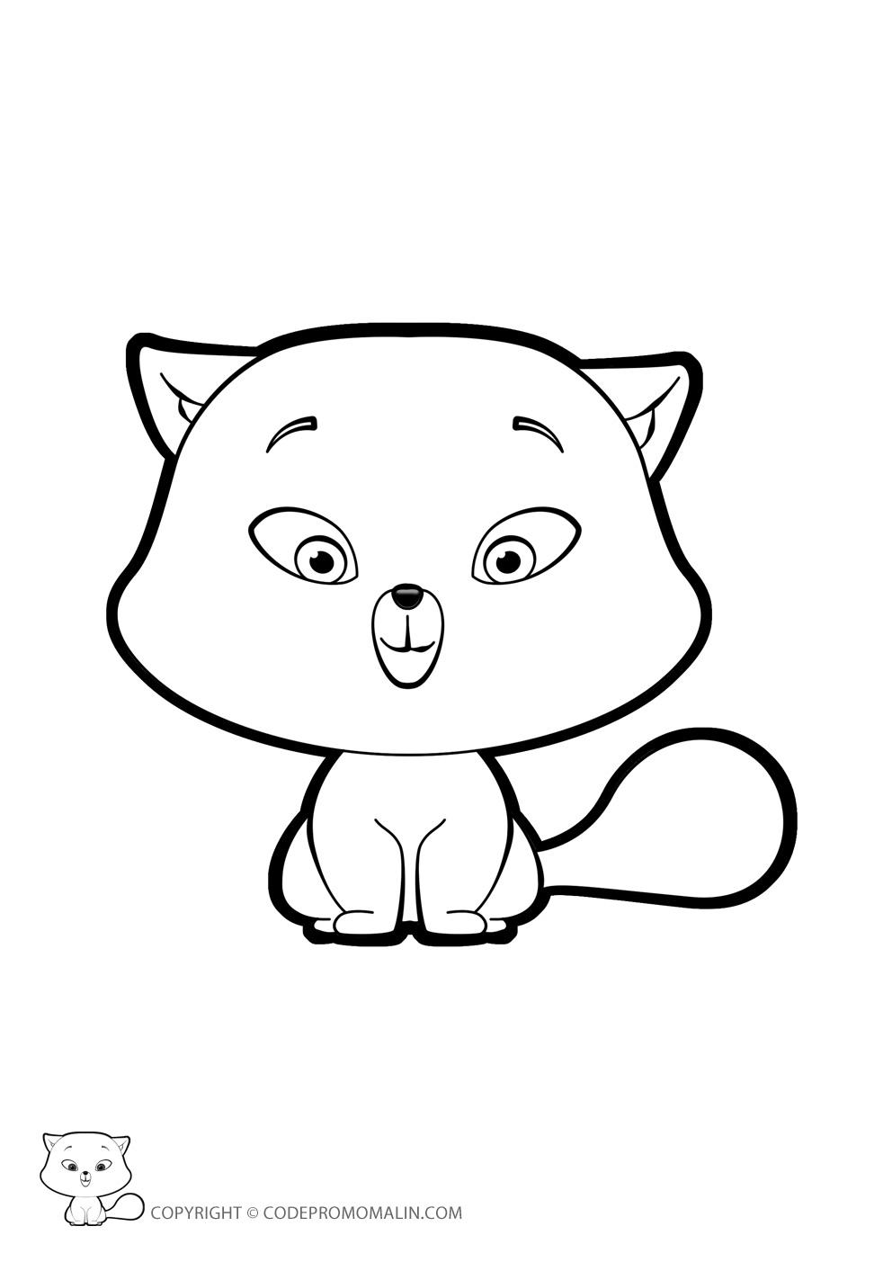 260 dibujos de Gatos para colorear   Oh Kids   Page 16