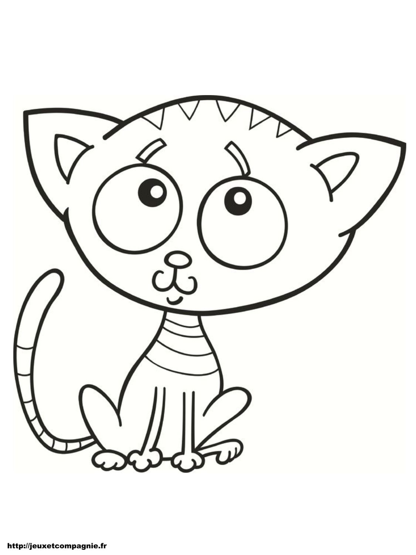 260 dibujos de gatos para colorear oh kids page 17 - Coloriage chaton a imprimer ...