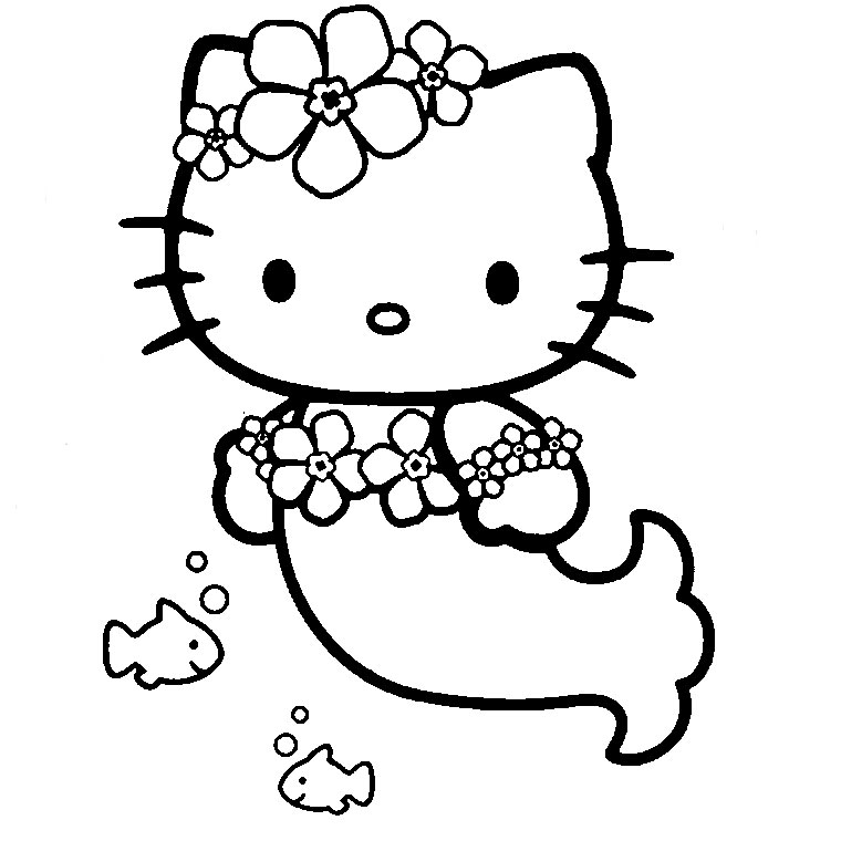 147 dibujos de Hello kitty para colorear | Oh Kids | Page 1