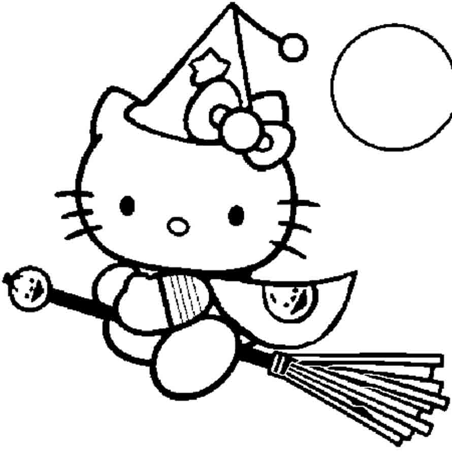 147 Dibujos De Hello Kitty Para Colorear Oh Kids Page 4