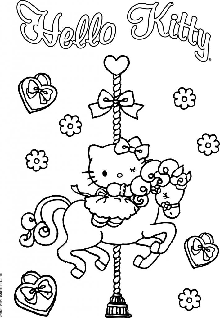 Único Gratis Hello Kitty Para Colorear Regalo - Dibujos Para ...