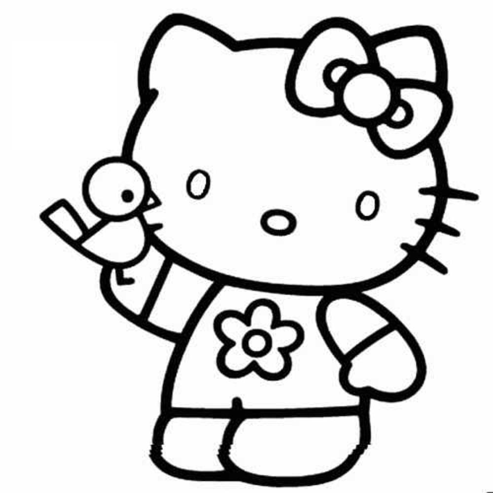 147 Dibujos De Hello Kitty Para Colorear Oh Kids Page 5