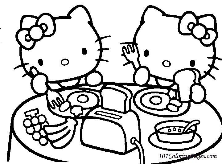 147 Dibujos De Hello Kitty Para Colorear Oh Kids Page 6