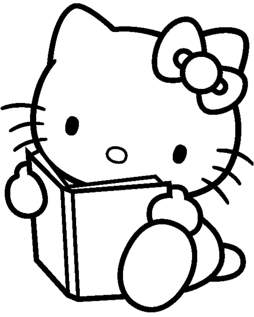 147 dibujos de Hello kitty para colorear | Oh Kids | Page 9