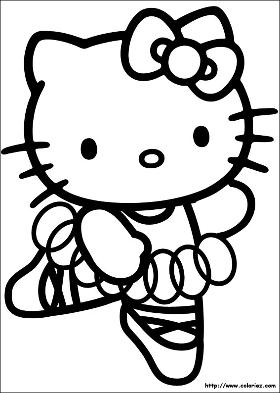 147 dibujos de Hello kitty para colorear   Oh Kids   Page 11