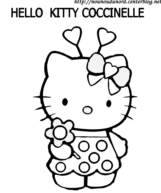 147 dibujos de Hello kitty para colorear   Oh Kids   Page 13