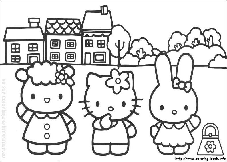 147 Dibujos De Hello Kitty Para Colorear Oh Kids Page 16