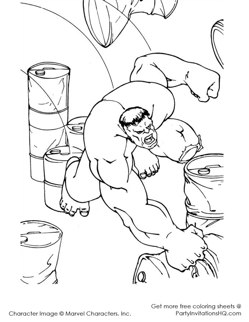 223 Dibujos De Hulk Para Colorear Oh Kids Page 3