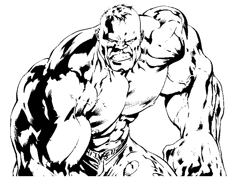 223 Dibujos De Hulk Para Colorear