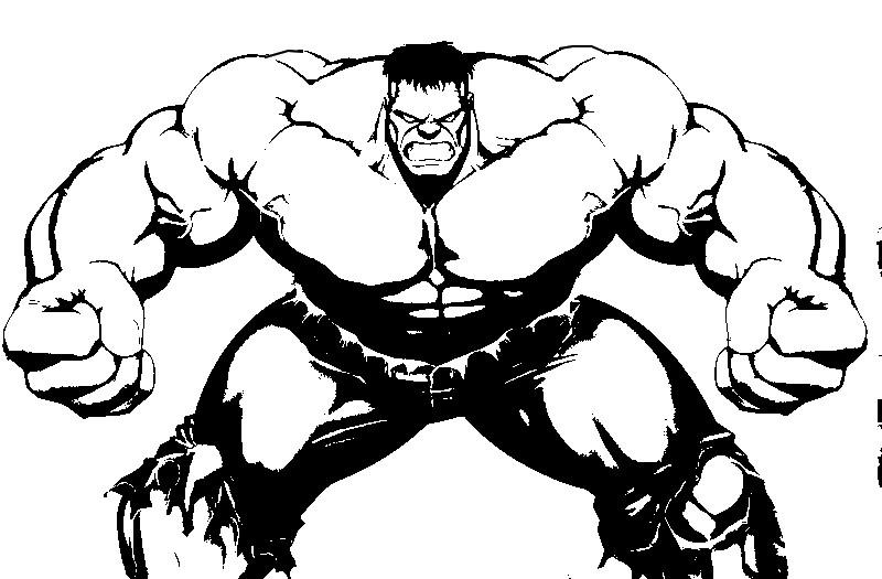 223 dibujos de Hulk para colorear | Oh Kids | Page 24