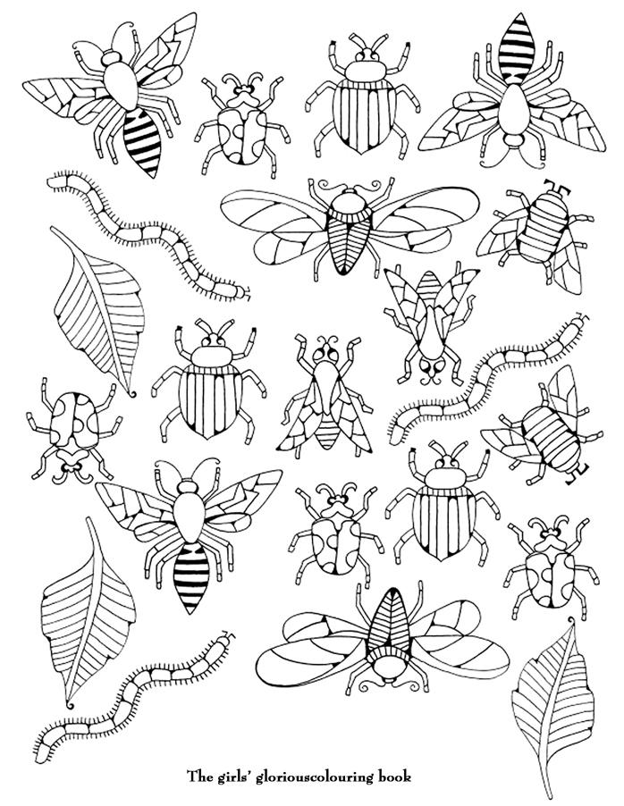 56 dibujos de Insectos para colorear | Oh Kids | Page 3