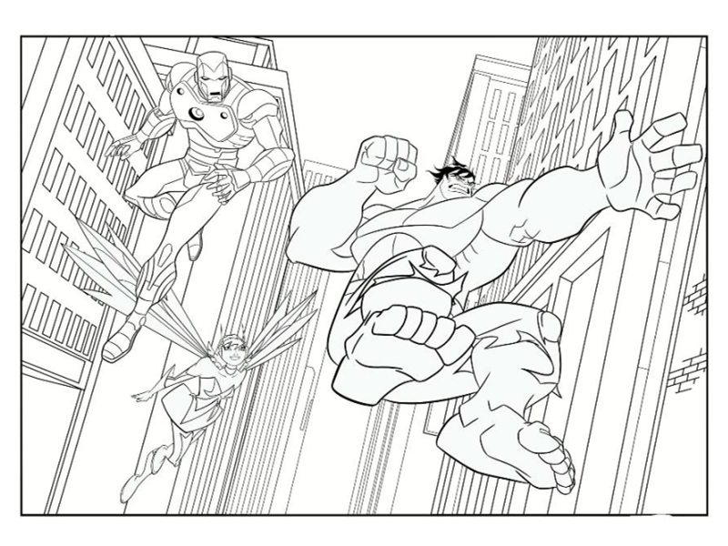 92 dibujos de Iron man para colorear | Oh Kids | Page 2