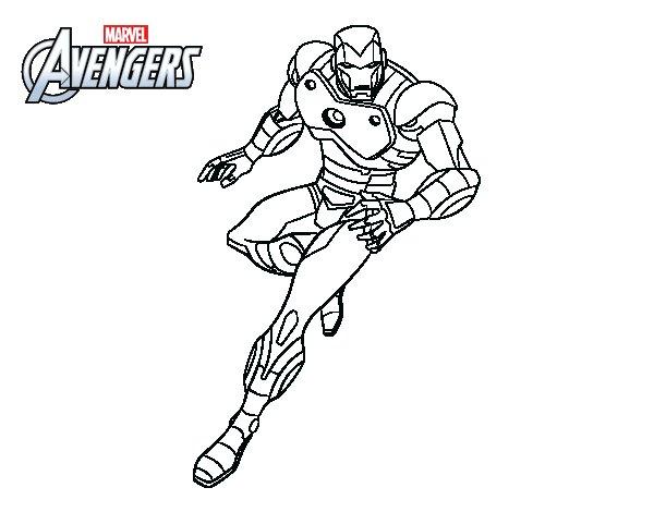 92 dibujos de Iron man para colorear | Oh Kids | Page 3