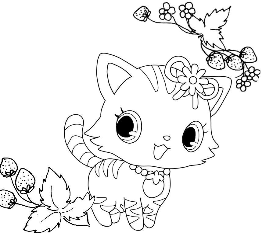 71 dibujos de jewelpet para colorear oh kids page 1 - Dessine gratuit ...
