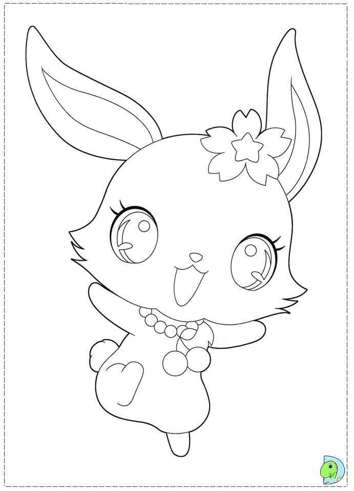 71 dibujos de Jewelpet para colorear | Oh Kids | Page 1