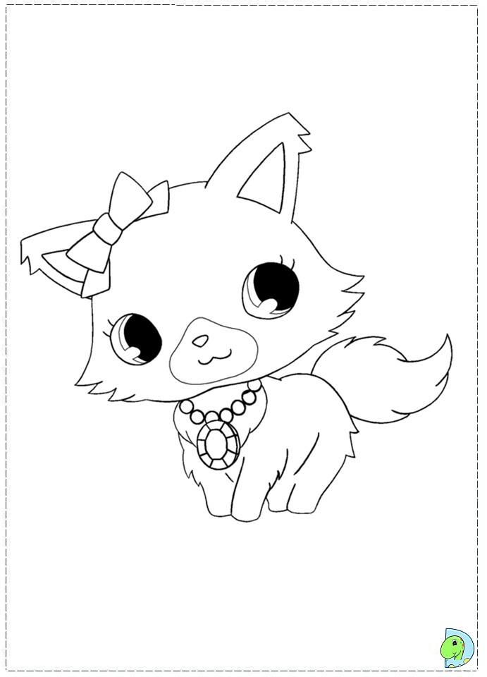 71 dibujos de Jewelpet para colorear | Oh Kids | Page 2