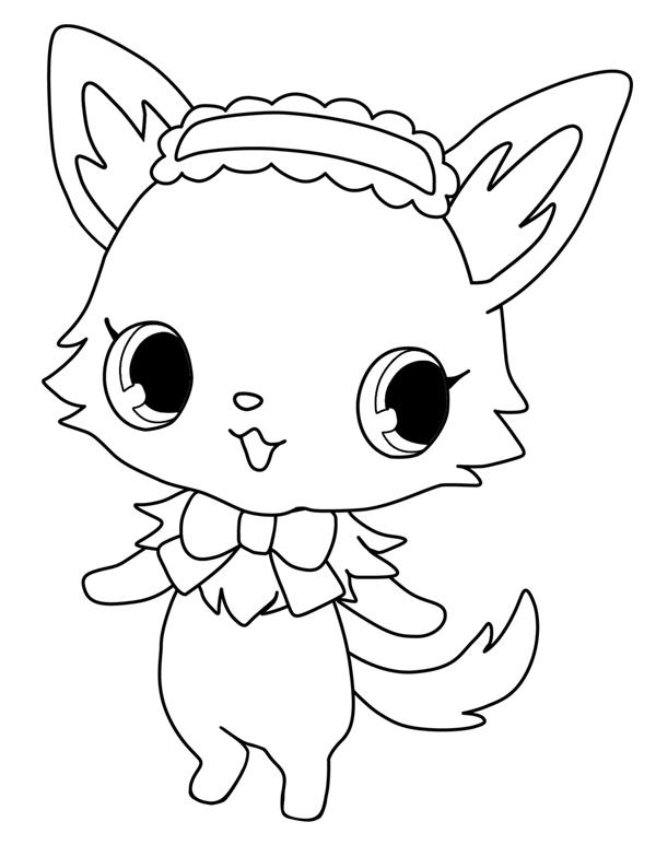 71 dibujos de Jewelpet para colorear | Oh Kids | Page 3