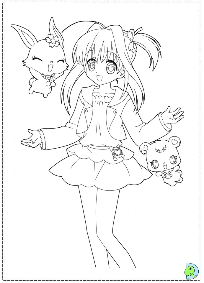 71 dibujos de Jewelpet para colorear | Oh Kids | Page 5