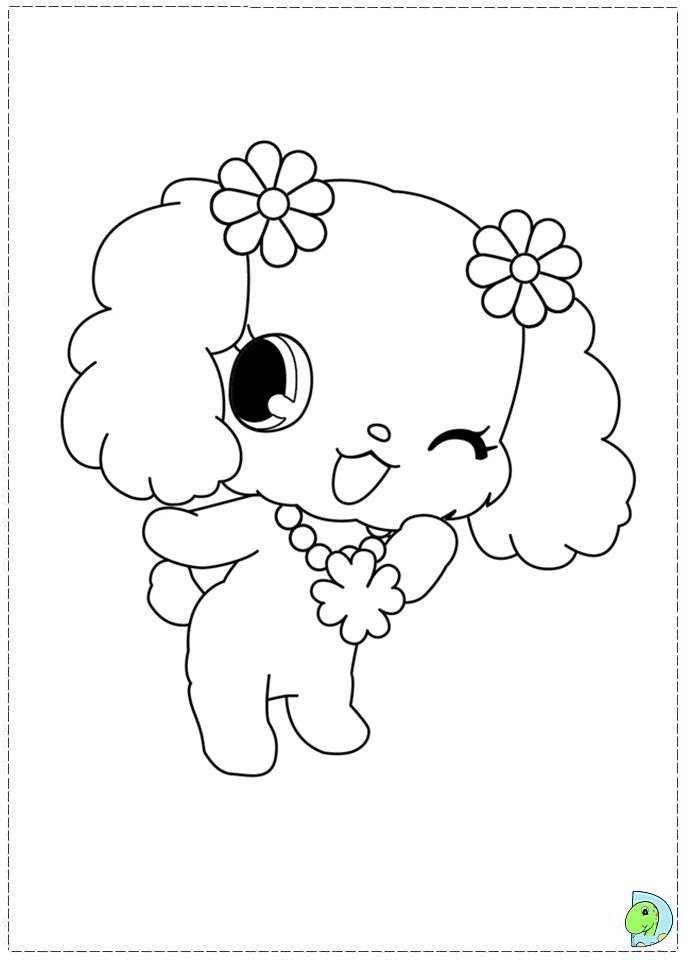 71 dibujos de Jewelpet para colorear | Oh Kids | Page 8