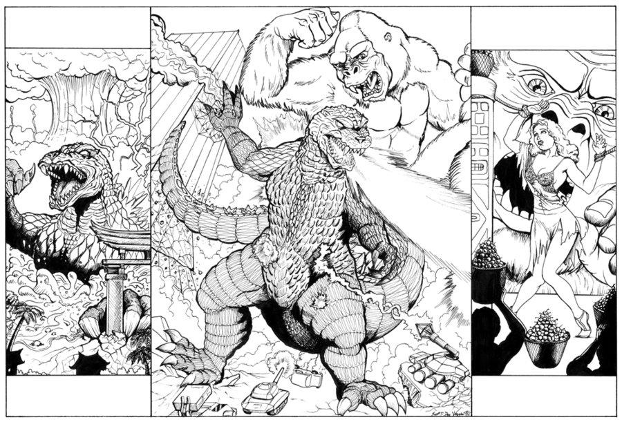 28 Dibujos De King Kong Para Colorear Oh Kids Page 2