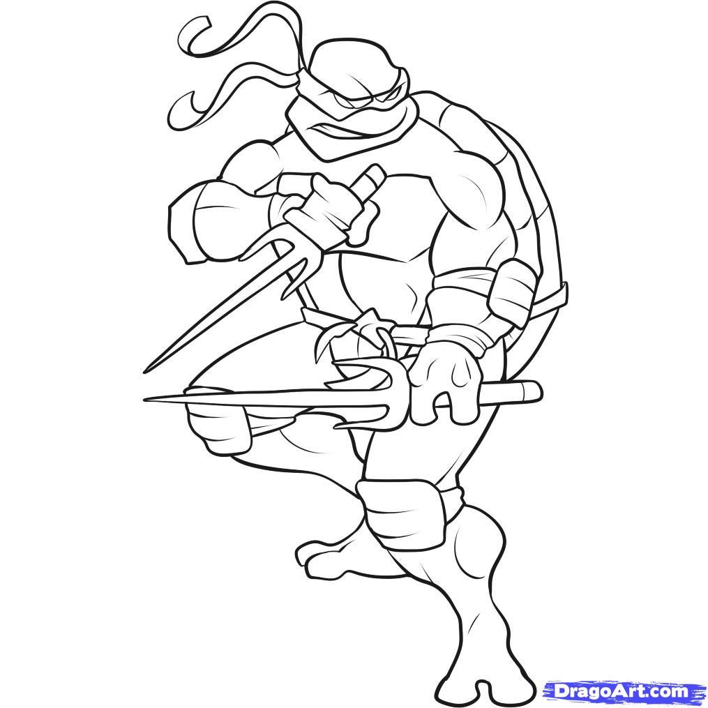 106 dibujos de Las tortugas ninja para colorear | Oh Kids | Page 2