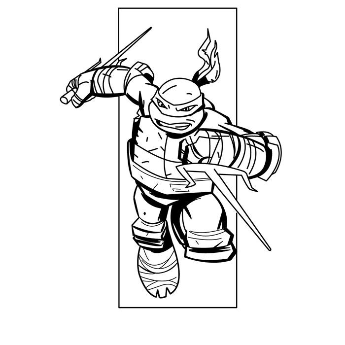 106 dibujos de Las tortugas ninja para colorear | Oh Kids | Page 3