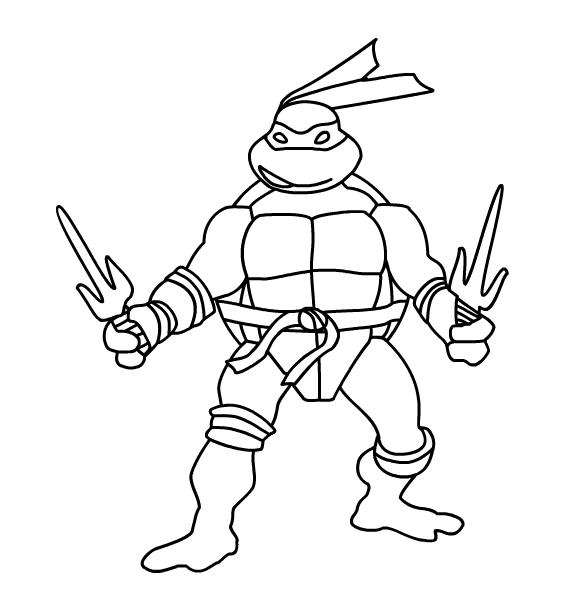 106 dibujos de Las tortugas ninja para colorear | Oh Kids | Page 4