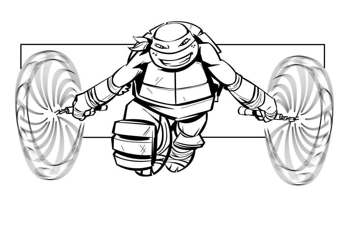 106 dibujos de Las tortugas ninja para colorear | Oh Kids | Page 12