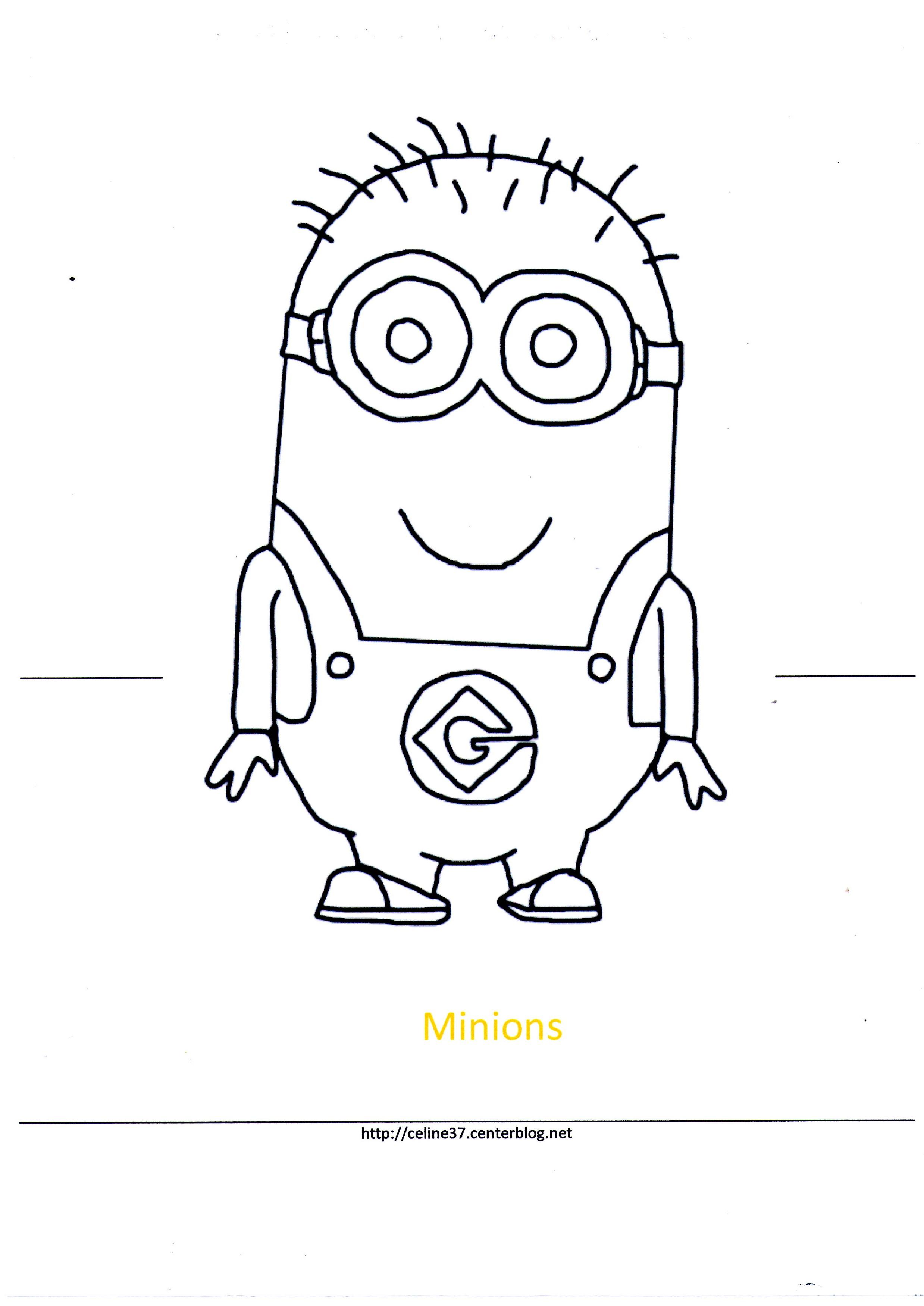 100 dibujos de Minions para colorear  Oh Kids  Page 2