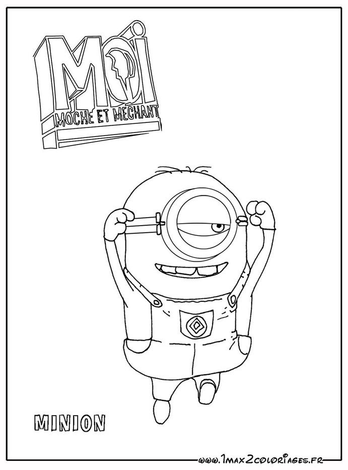 100 dibujos de Minions para colorear  Oh Kids  Page 6