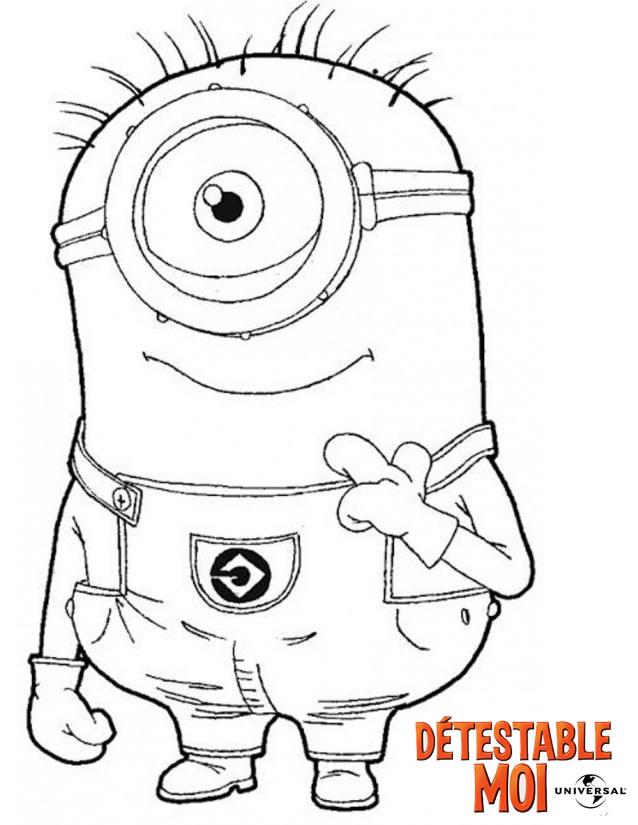 100 Dibujos De Minions Para Colorear Oh Kids Page 10