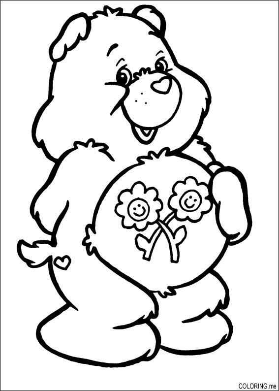 146 dibujos de Bisounours para colorear   Oh Kids   Page 3