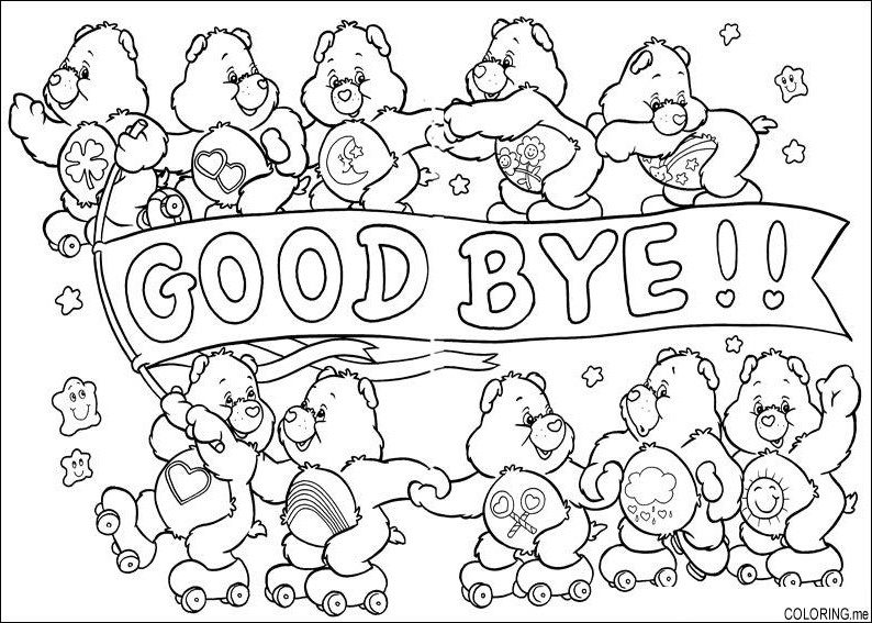 146 dibujos de bisounours para colorear oh kids page 5 - Bisounours coloriage ...