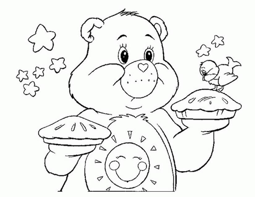 146 dibujos de Bisounours para colorear | Oh Kids | Page 6