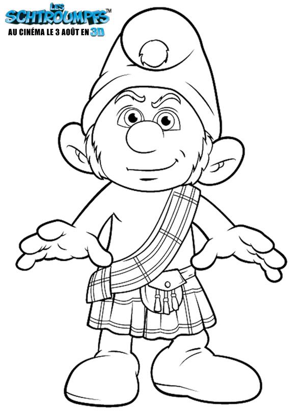113 dibujos de Los pitufos para colorear | Oh Kids | Page 1