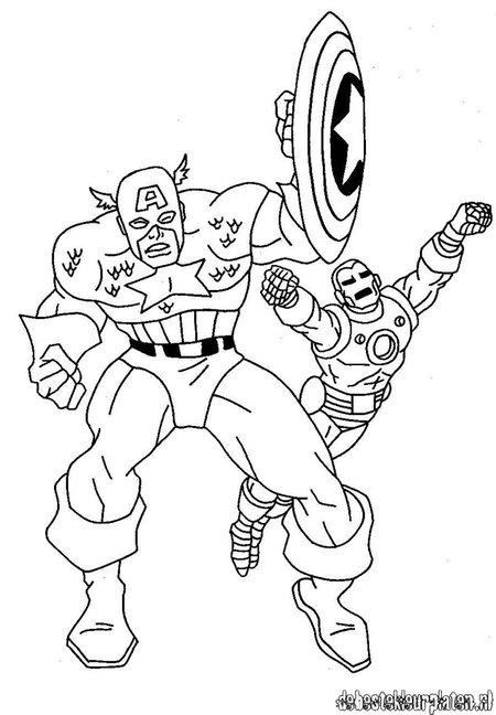160 dibujos de Los vengadores para colorear | Oh Kids | Page 1