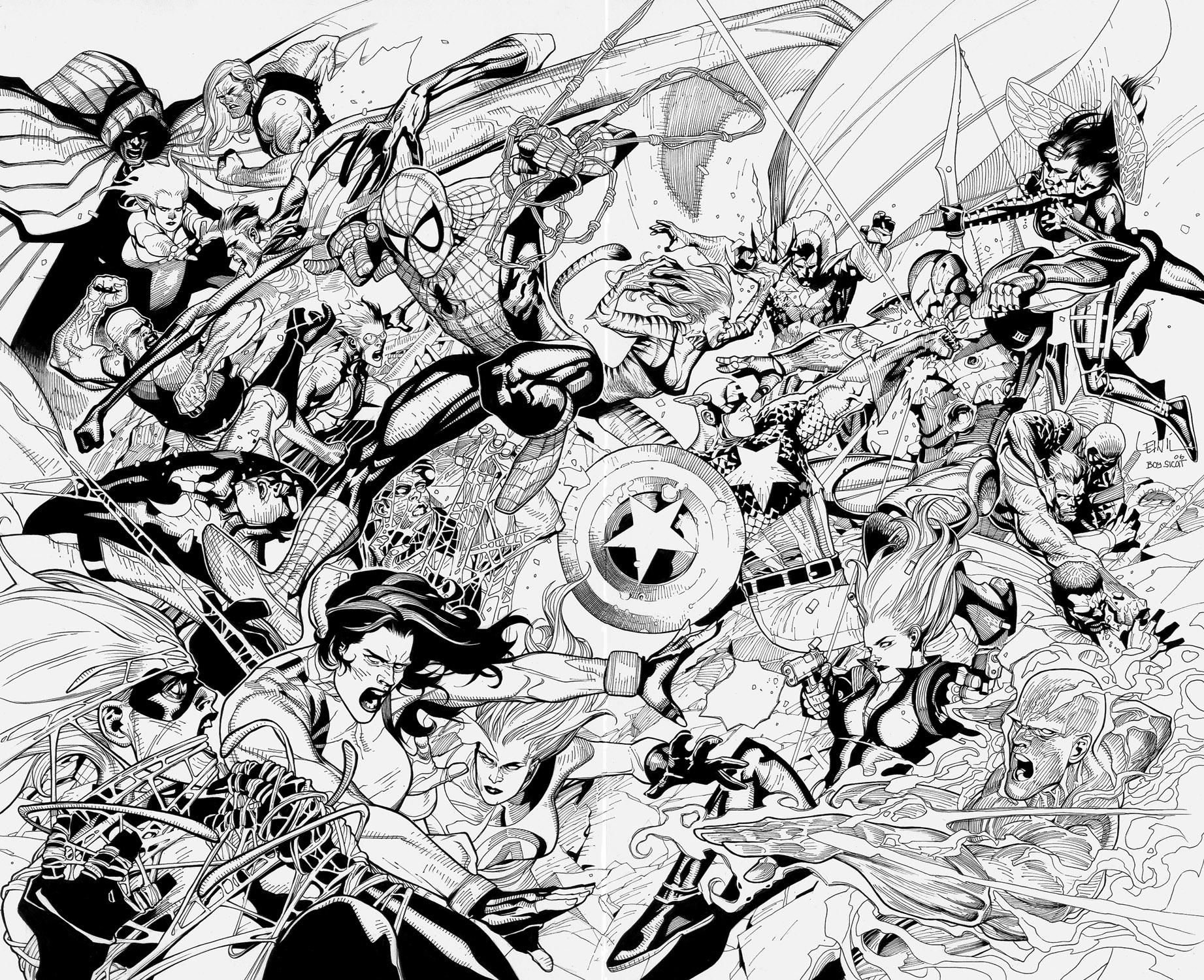 Hulk Para Colorear Facil: 160 Dibujos De Los Vengadores Para Colorear