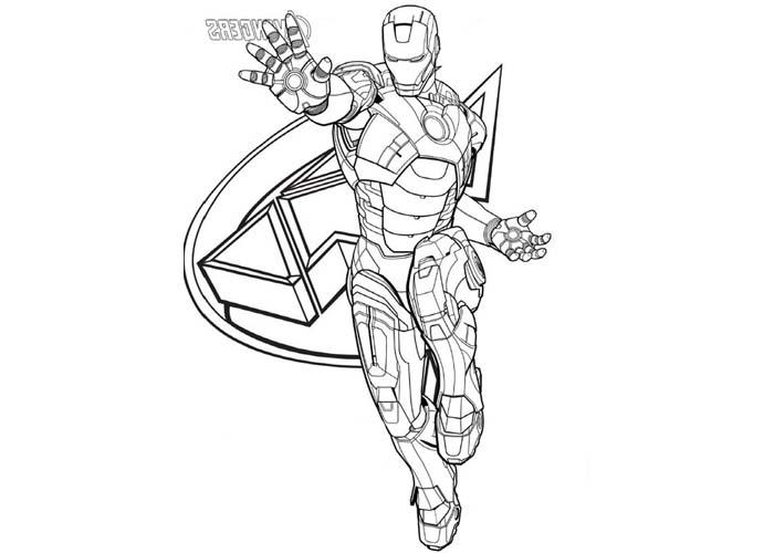 160 Dibujos De Los Vengadores Para Colorear Oh Kids Page 5