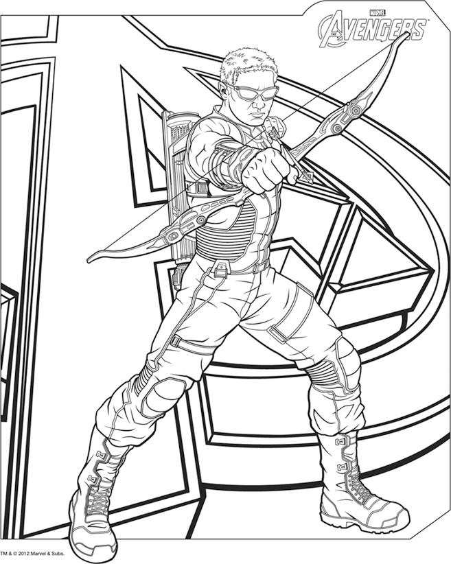 Disney xd avengers coloring pages ~ Avengers 2 Dibujos Para Colorear - Dibujos Para Pintar