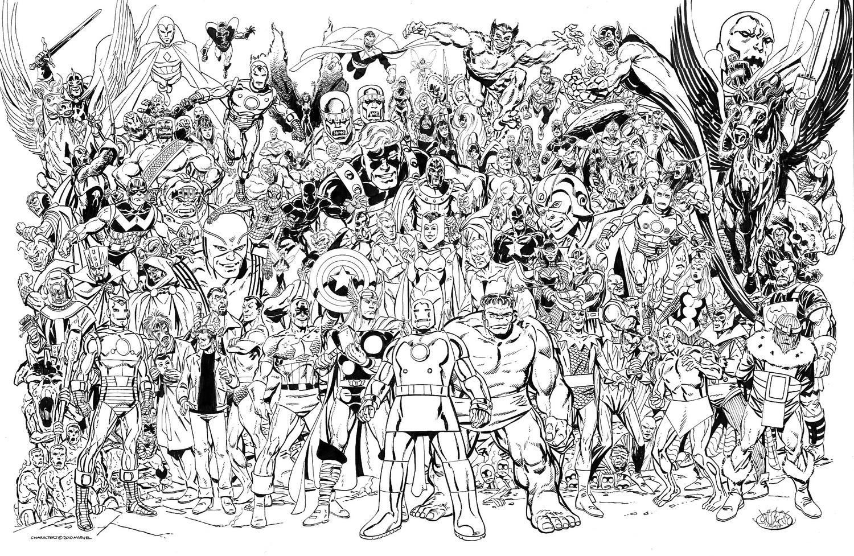 160 dibujos de Los vengadores para colorear | Oh Kids | Page 9