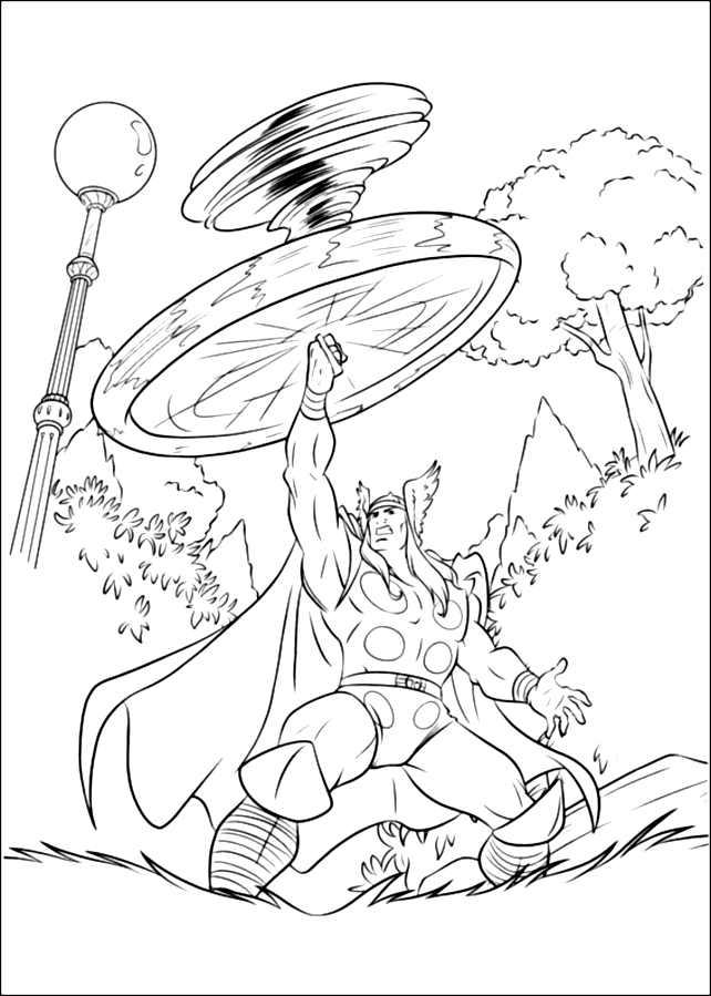 160 dibujos de Los vengadores para colorear | Oh Kids | Page 11